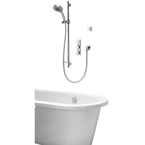 Additional image for Digital Bath Kit 19 With Shower Kit, Bath Filler & Remote (HP, Combi).