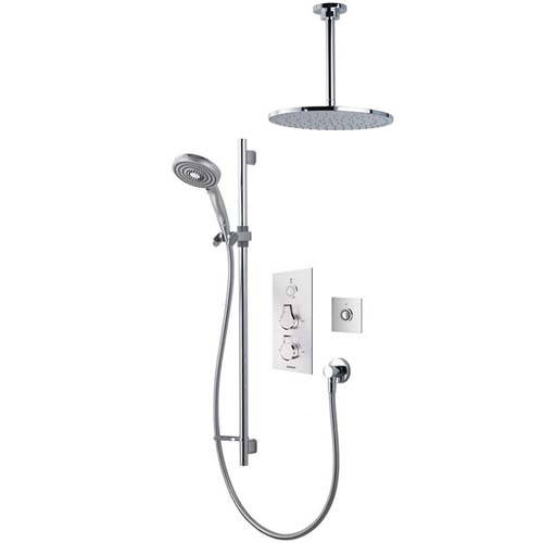 Additional image for Digital Shower Pack 84 (Chrome Astratta Handles, HP).