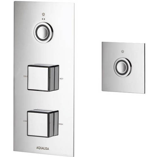 Additional image for Digital Shower Pack 51 (Chrome Piazza Handles, GP).