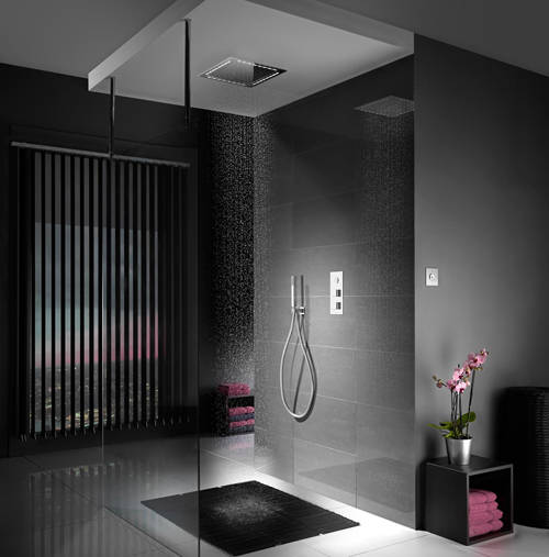 Additional image for Digital Shower Pack 67 (Chrome Tondo Handles, GP).