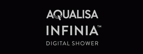 Additional image for Digital Shower Pack 86 (Chrome & White Astratta Handles, HP).