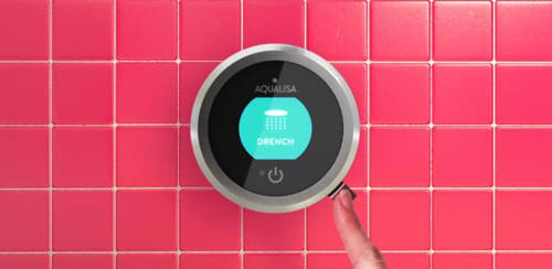 Additional image for Smart Shower Pack 04RG With Remote & Rose Gold Accent (Gravity).
