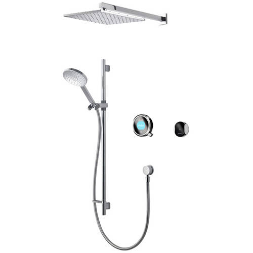 Additional image for Smart Shower Pack 08BC With Remote & Black Accent (Gravity).