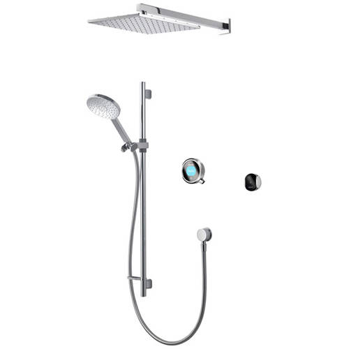 Additional image for Smart Shower Pack 08C With Remote & Chrome Accent (Gravity).