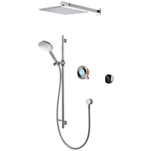 Additional image for Smart Shower Pack 08OR With Remote & Orange Accent (Gravity).