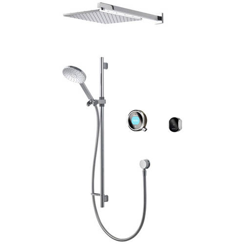 Additional image for Smart Shower Pack 08P With Remote & Pewter Accent (Gravity).