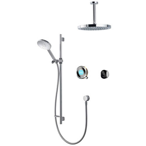 Additional image for Smart Shower Pack 11N With Remote & Nickel Accent (HP).