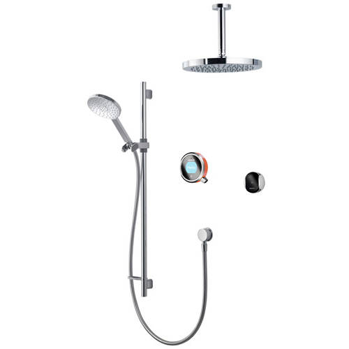 Additional image for Smart Shower Pack 11OR With Remote & Orange Accent (HP).