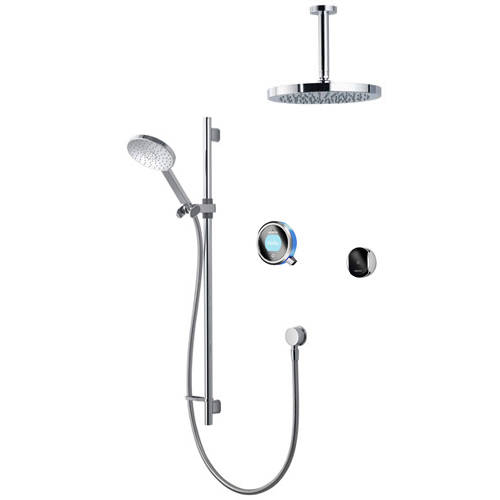 Additional image for Smart Shower Pack 12BL With Remote & Blue Accent (Gravity).