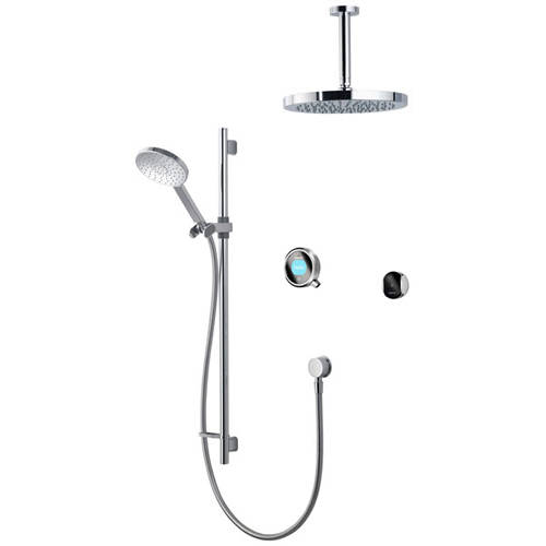 Additional image for Smart Shower Pack 12C With Remote & Chrome Accent (Gravity).