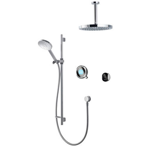 Additional image for Smart Shower Pack 12GR With Remote & Grey Accent (Gravity).