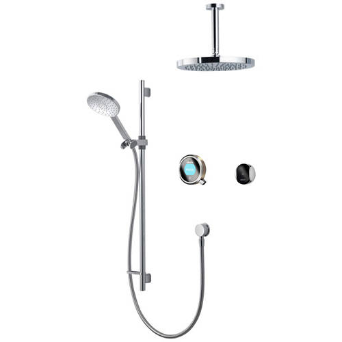 Additional image for Smart Shower Pack 12N With Remote & Nickel Accent (Gravity).