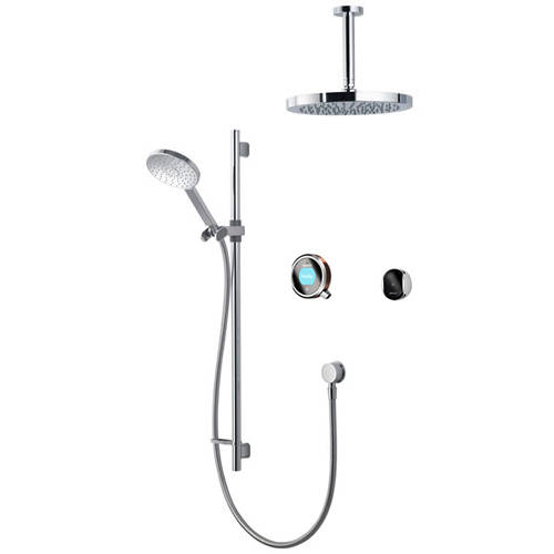 Additional image for Smart Shower Pack 12RG With Remote & Rose Gold Accent (Gravity).