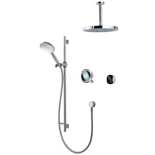 Additional image for Smart Shower Pack 12S With Remote & Silver Accent (Gravity).