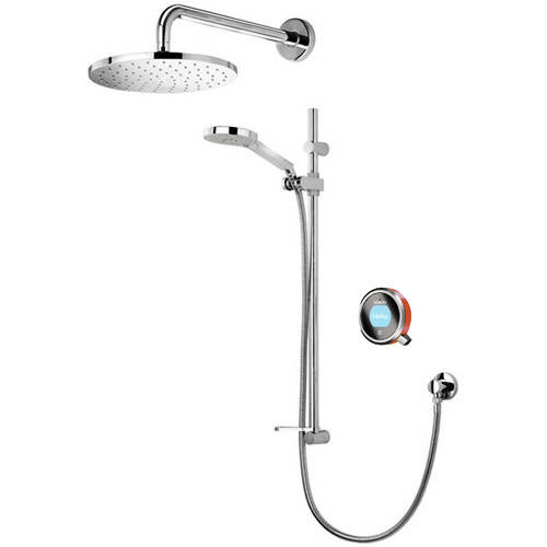 Additional image for Q Smart 17OR With Shower Head, Slide Rail & Orange Accent (HP).