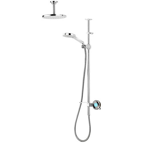 Additional image for Q Smart 23P With Ceiling Fed Rail Kit, Head & Pewter Accent (HP).