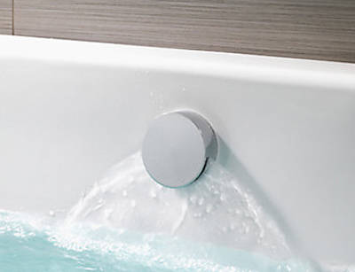 Additional image for Q Smart 26P, Ceiling Fed Rail Kit, Bath Fill & Pewter Accent (GP).