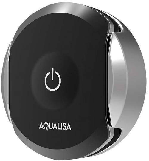 Additional image for Q Smart Wireless Remote Control (Chrome & Black).