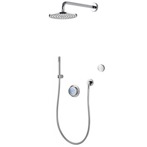 Additional image for Digital Shower With Remote, Hand Shower & Fixed Head (HP).