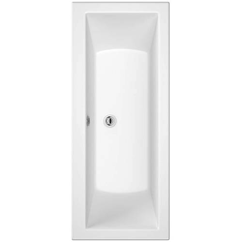Additional image for Canaletto Trojancast Double Ended Bath (1700x800mm).