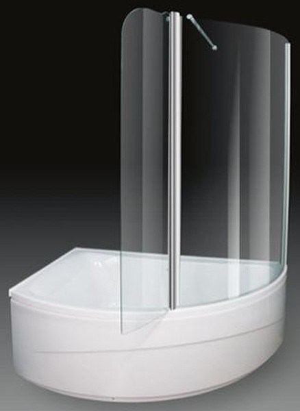 Corner Shower Bath With Screen. Left Hand. 1500x1000mm. Aquaestil ...