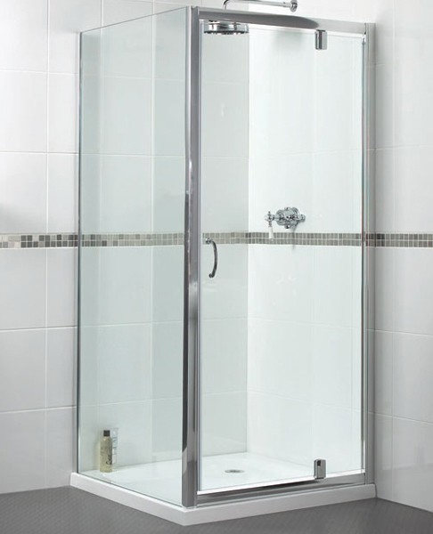 Shower Enclosure With 760mm Pivot Door 760x700mm