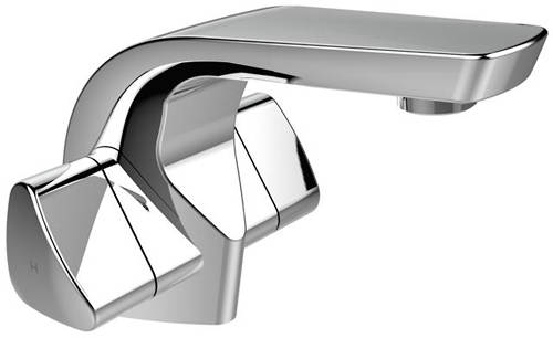 Additional image for Mono Basin Mixer Tap With Clicker Waste (Chrome).