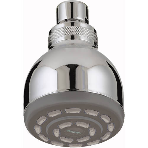 Additional image for Single Function Fixed Shower Head (Chrome).