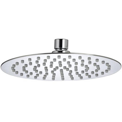 Additional image for Round Fixed Shower Head (200mm, Stainless Steel).