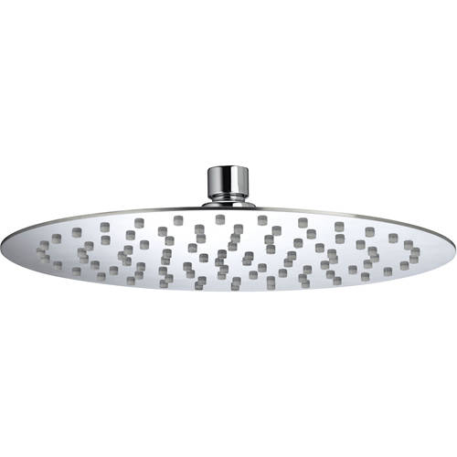 Additional image for Round Fixed Shower Head (250mm, Stainless Steel).