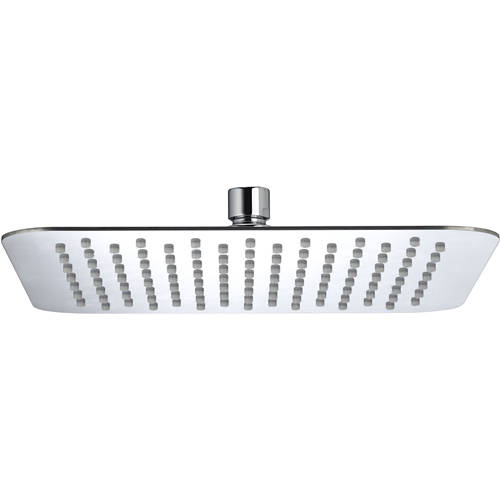 Additional image for Square Fixed Shower Head (250x250mm, S Steel).