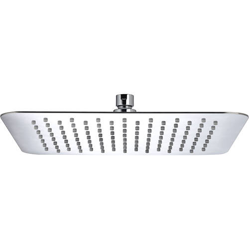 Additional image for Square Fixed Shower Head (300x300mm, S Steel).