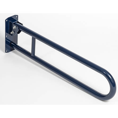 Additional image for Hinged Grab Rail 800mm (Blue).