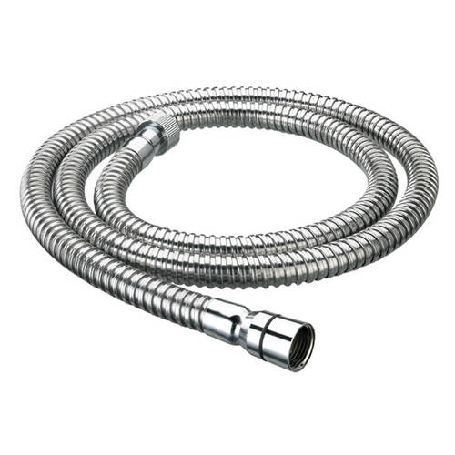 Additional image for Cone To Nut Shower Hose (1.5m, 11mm, Chrome).