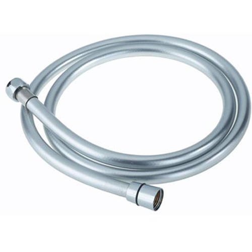 Additional image for Cone To Nut Easy Clean Shower Hose (1.5m, Silver).