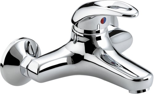 Additional image for Wall Mounted Bath Filler Tap (Chrome).