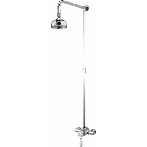 Additional image for Exposed Bar Shower Valve With Riser (1 Outlet, Chrome).