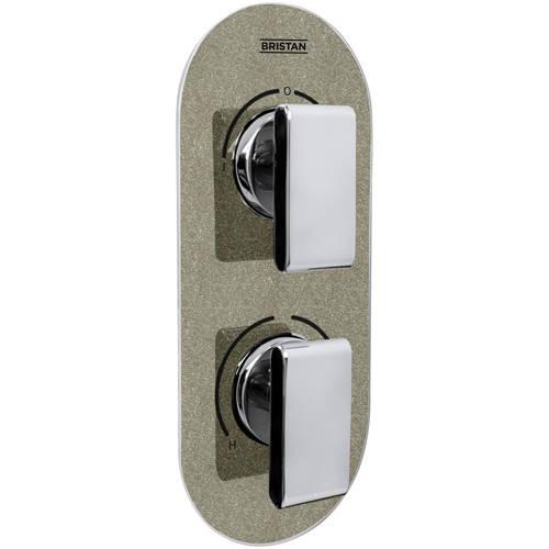 Additional image for Concealed Shower Valve (2 Outlets, Champagne Shimmer).