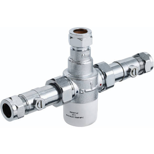 Additional image for Thermostatic Blending Valve With Isolation TMV3 (15mm)