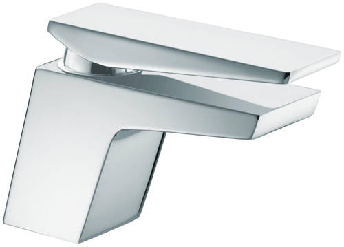 Additional image for Basin Mixer Tap With Clicker Waste (Chrome).