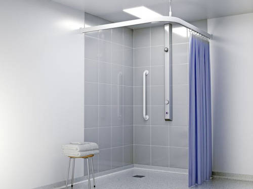 Additional image for Vandal Resistant Shower With Anti-Microbial Coating.