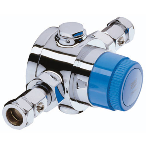 Additional image for Thermostatic Blending Valve With Isolation (28mm)