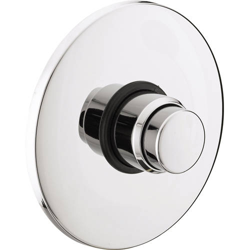 Additional image for Concealed Push Button Time Flow Valve (Chrome).