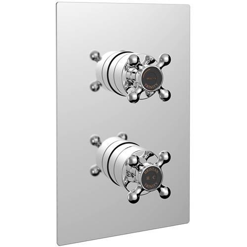 Additional image for Concealed Shower Valve (1 Outlet, Chrome).