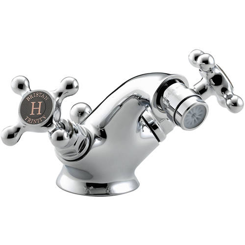 Additional image for Bidet Mixer Tap With Pop Up Waste (Chrome).