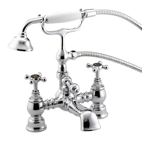 Additional image for Bath Shower Mixer Tap (Chrome).