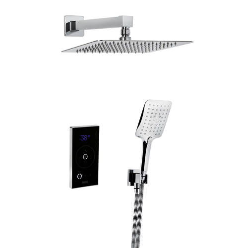 Additional image for Thermostatic Digital Shower Valve With Head & Handset.