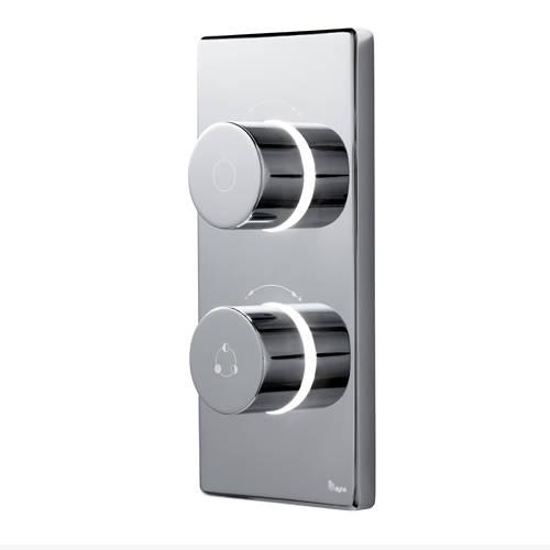 Additional image for Digital Shower Pack, Slide Rail, Square Head & Remote (HP)