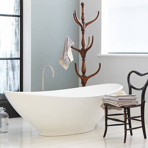 Additional image for Kurv Bath 1890mm (Polished White).
