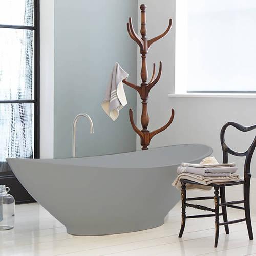 Additional image for Kurv ColourKast Bath 1890mm (Powder Grey).